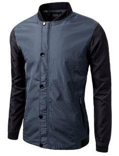 Doublju Mens Trendy Lightweight Versatile Jacket #doublju