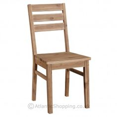 The Sahara Dining Chair is great for the simple rustic look thanks to its attractive grain.
