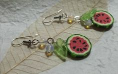 Juicy Watermelon Earrings