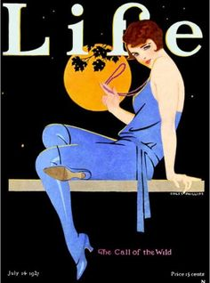 Life Magazine, July 1927 (Cover art by Coles Phillips) Art Deco Illustration, Gravure Illustration, Illustrations Vintage, Illustrations And Posters, Life Magazine, Magazine Art, Beauty Magazine, Art Deco Posters, Vintage Posters