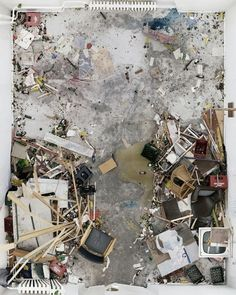 Art or mess, maybe a bit of both.. unknown artist