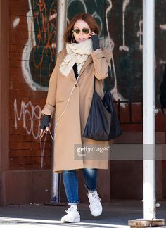 Julianne Moore seen chatting on the phone while out an about on March 1, 2016 in New York City.