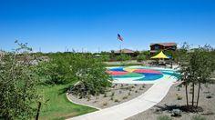Beautiful #playground and #splashpad for the #kids