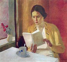 Lettrice - Alexander Deineka