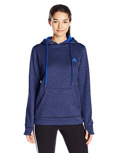 Women's Athletic Hoodies - adidas Womens Team Issue Fleece Pullover Hoodie ** Continue to the product at the image link.