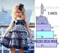 51 Ideas For Sewing Baby Clothes Tutorial Girls Little Dresses, Little Girl Dresses, Girls Dresses, Summer Dresses, Sewing Baby Clothes, Baby Sewing, Sewing Coat, Barbie Clothes, Fashion Kids
