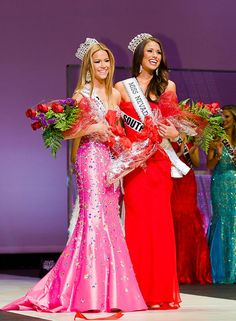 Miss South Las Vegas USA Nia Sanchez and Miss Summerlin Teen USA Alexa Taylor were crowned Miss Nevada USA 2014 and Miss Nevada Teen USA 2014 on Sunday, Jan. 12, 2014 (Pictured: Alexa Tayler, Miss Nevada Teen USA 2014 & Nia Sanchez, Miss Nevada USA 2014 - Photo credit: www.khanhx.com).