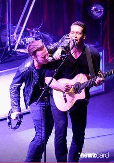 Ryan and Zach #OneRepublic live