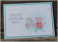 Sigrids kreative ART: Fröhliche Weihnacht überall #festtagsmäuse