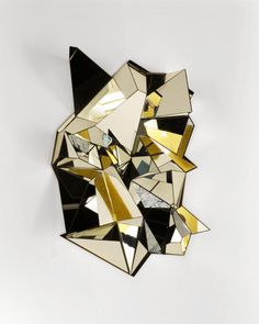 Mathias Kiss - Froisse Mirror #exclusivedesign #luxurydesignFor more inspirations: www.bocadolobo.com home furniture, designer furniture, inspirations ideas, exclusive furniture, interior design ideas