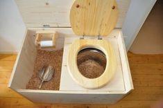 Toilettes sèches dans le van !