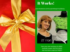 #ITWORKS!  The only wrap on the market that can#tighten #tone #firm in 45 min.  I went down 2 jean sizes!  #followme www.fb.com/louannwrapsyouskinny #bodywraps #weightloss #weightwatchers