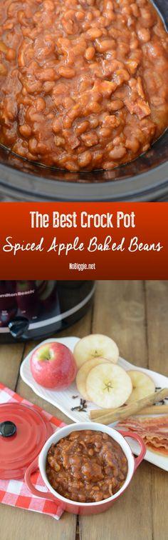 the best crock pot spiced apple baked beans | NoBiggie.net