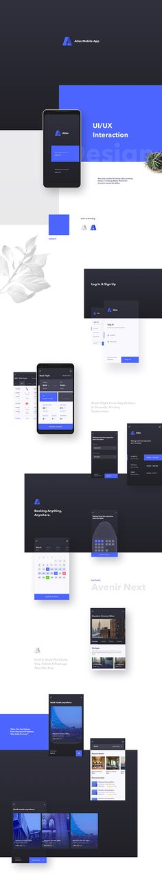 Atlas Mobile App UI Design on Behance