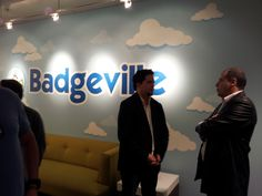 Visiting Badgeville, the world leader in gamification. Got US$40MM of funding, in just two first years...