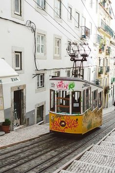 Places to go in Lisbon! Check our blogpost for places you might want to check when traveling to Portugal!