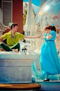 Peter and Wendy are so cute