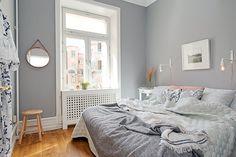 grå väggfärg sovrum - Sök på Google