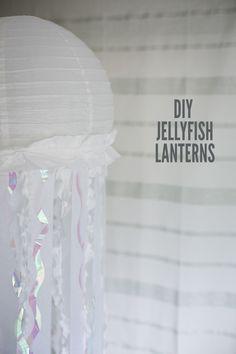 Jellyfish Paper Lanterns