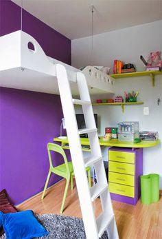 Teen Girl Bedrooms, quite pleasant to alluring area arrangement, number 7278639394 Comfy Bedroom, Baby Bedroom, Bedroom Wall, Bedroom Decor, Suspended Bed, Cool Things To Build, Purple Accent Walls, Bedroom Images, Teen Girl Bedrooms