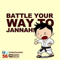 "#056 Ahmad Says: ""Battle your way to Jannah!"""