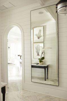 long mirrors make rooms look bigger
