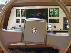 Utterly Bitchen Car Dashboards Inspired By Spaceships Subaru Xt, Digital Dashboard, Fiat Uno, Chevrolet Cavalier, Car Interior Design, Aston Martin Lagonda, Car Brochure, Dashboards, Retro Cars