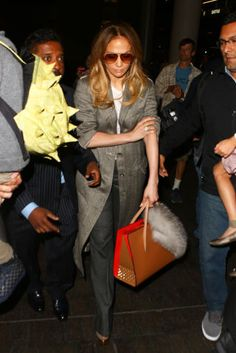 Celebs wearing chic, but comfortable, outfits you can actually get around in.