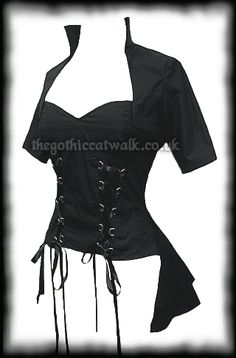 4a421207cd6 Short Sleeved Gothic Bustle Corset Top Plus Size Steampunk