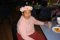My beautiful nana. Relevant as it's Mother's day tomorrow ♥