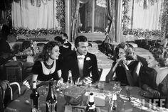 Parisian Dinner Party, 1959.  Porfirio Rubirosa and Odile Rodin.