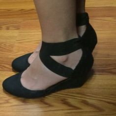 3 inches sexy wedges Comfortable but fit too small new directions Shoes Wedges