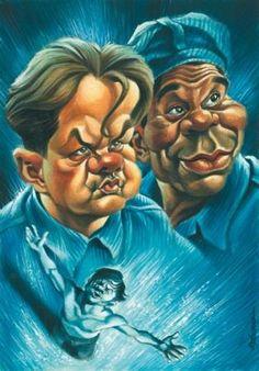 Caricaturas de películas de Vizcarra