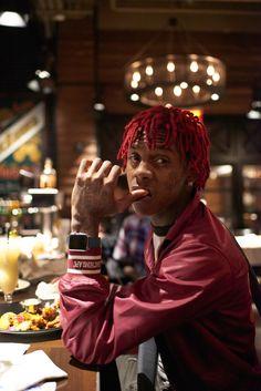 Famous Dex, one of most exciting emerging rappers, visits Manhattan. Famous Dex Wallpaper, Best Rapper Ever, Husband Appreciation, Rapper Art, Lil Yachty, Black Characters, Lil Uzi Vert, Hip Hop Artists, Calvin Klein Underwear