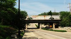 Cherry Lane underpass viaduct. Northbrook Illinois. Photo taken May 26, 2010 by Eddie from Chicago, via Flickr