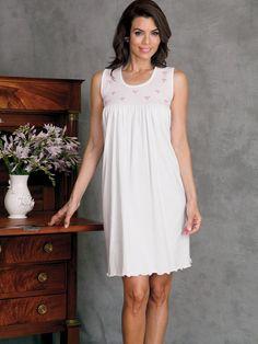 e2a7f1a4ad Catarine - Luxury Nightwear - Schweitzer Linen