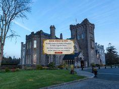 Lough Rynn Castle Hotel, midway b/w Sligo & Dublin.  Around 150 Euros