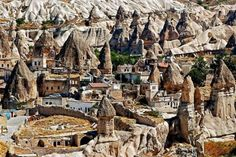 architecture vernaculaire, Cappadoce, Turquie