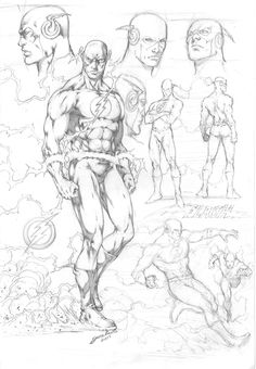 Fantastic Learn To Draw Comics Ideas Comic Character Drawings Flash Character Study by comiconart. Flash Characters, Drawing Cartoon Characters, Comic Drawing, Character Drawing, Comic Character, Cartoon Drawings, Character Design, Comic Book Artists, Comic Artist