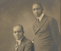 african americans in 1940's | African American Father Son Portrait Washington by CrowCreekUnique