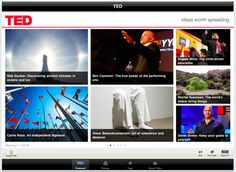 TED- great app for teachers to watch TED talks videos