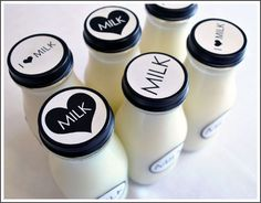milkaholic sip & see baby shower     Kara's Party IdeasKara's Party Ideas