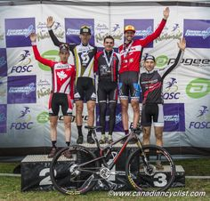 Canadian Cyclist - Photo Galleries - Podium - Canada Cup #1 - Tremblant Canadian Calendar, Canada Cup, Cycling News, Mountain Biking, Competition, Photo Galleries, Racing, Running, Lace