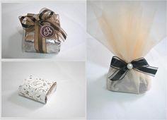 Brownies em embalagem customizada Foto: Reprodução / Casando em BH