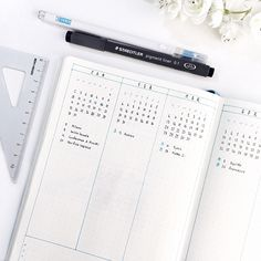 emma's studyblr bullet journal 2017 yearly overview spead minimalist