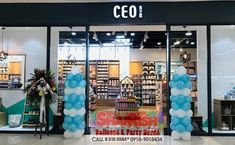 CEO is open at Level 2, Unimart Capitol Commons You'll surely love their simple yet fashionable, practical and useful things. Momshies wouldn't resist CEO's dainty and household needs. Balloon Pillars, Balloon Decorations, Balloons, Household, Store, Simple, Party, Globes, Storage
