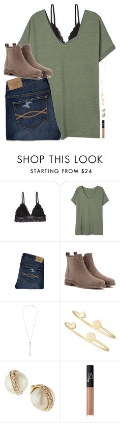 """{ set goals that scare &I excite you at the same time! }"" by shannaolo ❤ liked on Polyvore featuring Humble Chic, Abercrombie & Fitch, Loro Piana, Kendra Scott, Sarah Chloe, Kate Spade, NARS Cosmetics, women's clothing, women and female High School Outfits, Outfits For Teens, Cute Outfits, Casual Outfits, Comfy Outfit, Cute Fashion, Fashion Outfits, Womens Fashion, Fall Winter Outfits"