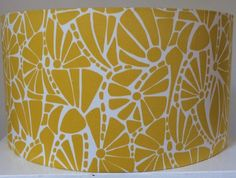 Handmade Lamp Shade   Zesty Lemon