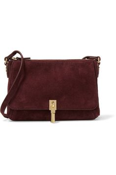 Burgundy suede Zip fastening along top Weighs approximately 0.9lbs/ 0.4kg