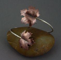 Maple Leaf Cuff - Etsy